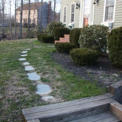 Before walkway 4