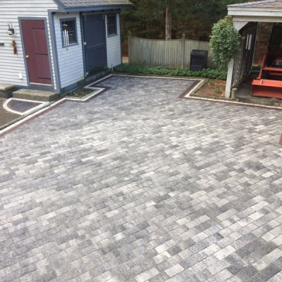 After driveway