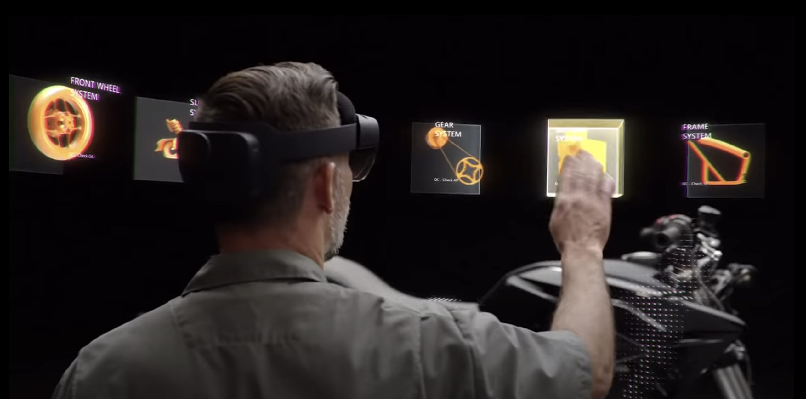 Man in HoloLens
