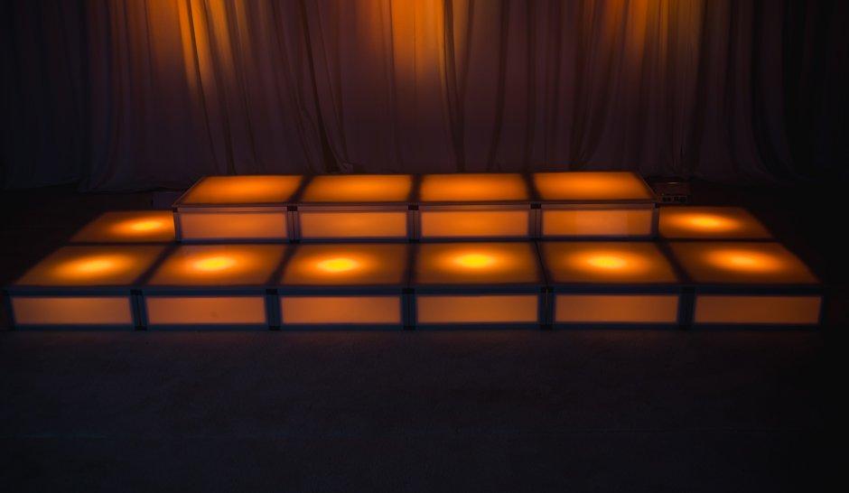 LED Dance Platform