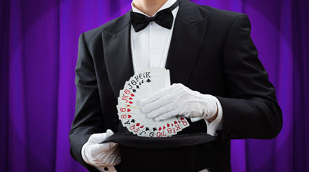 Magicians at Casino Night