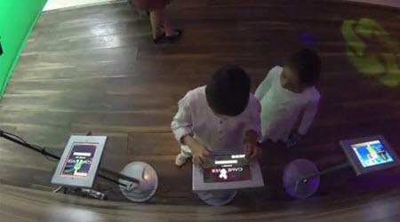 Kids Enjoying VR Hero Station