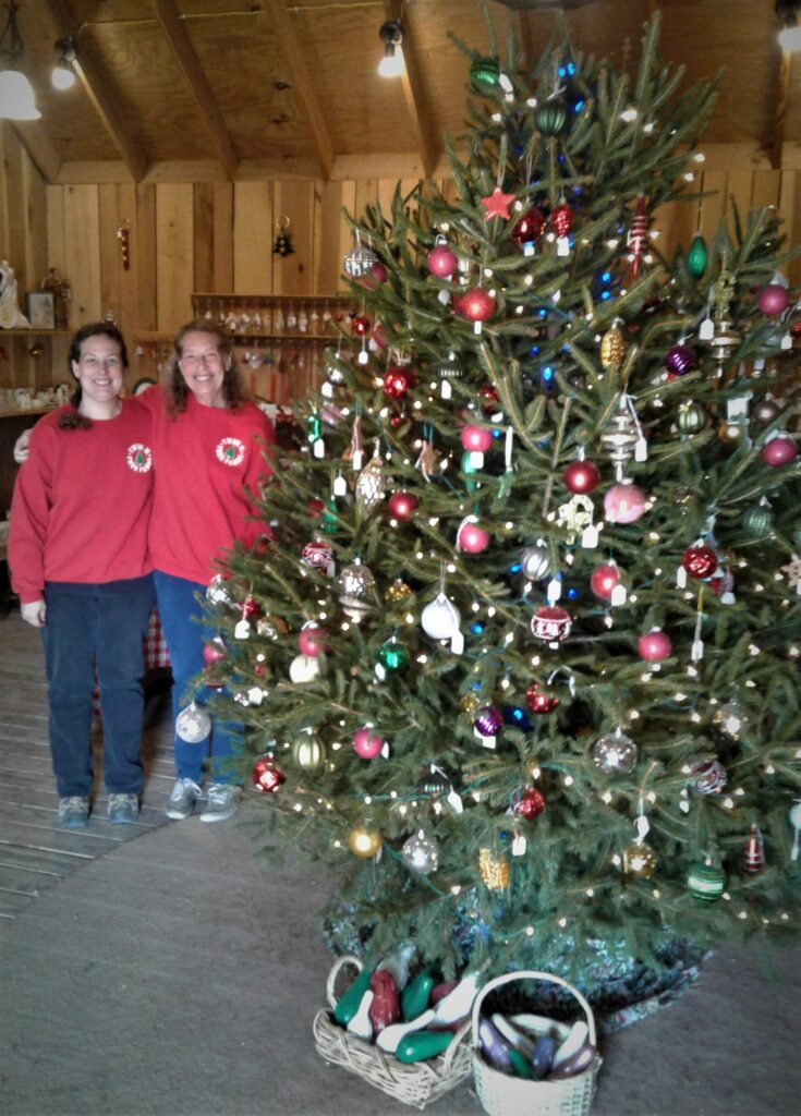 Jeanne and Lisa Hopwood - Owners of Twin H Tree Farm