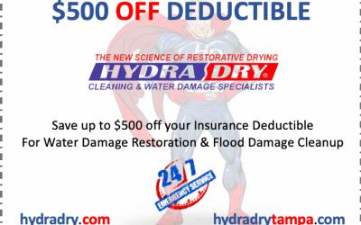 Water Damage Restoration Tampa
