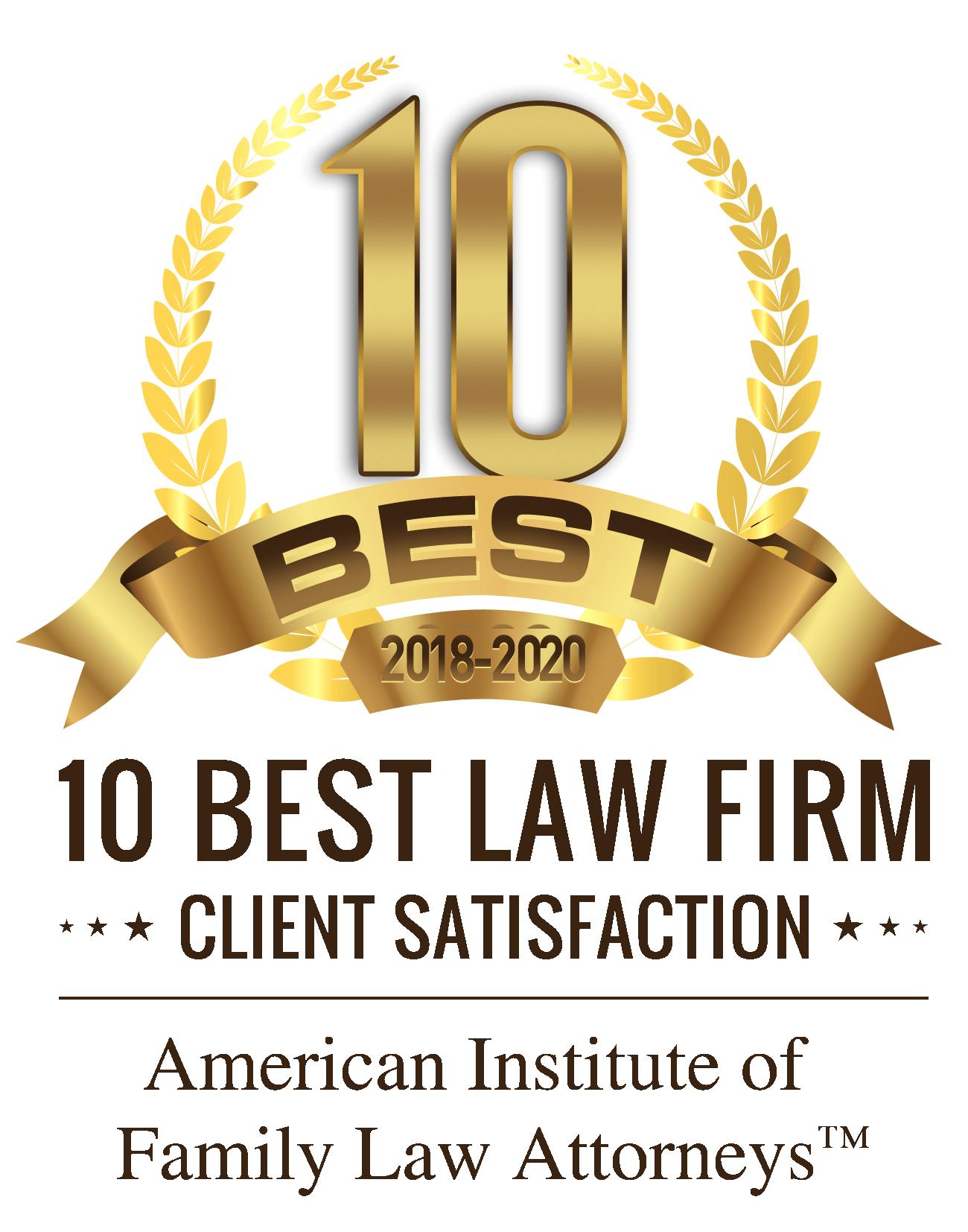 Best divorce attorneys award