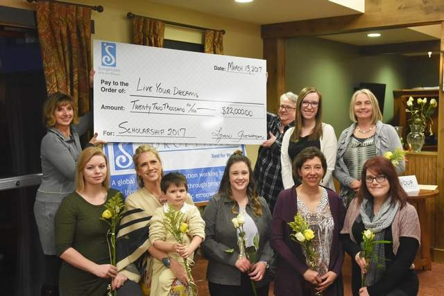 Whitefish Soroptimist - Live Your Dream Award