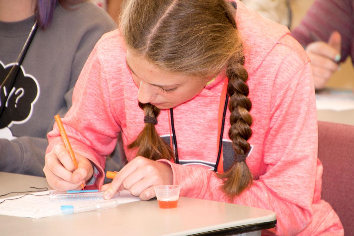 Girl-Scientist / Flathead Expanding Your Horizon