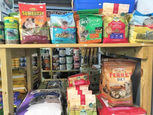 Hamster, Rabbit and Ferret food