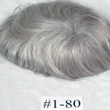 Color #1-80 Jet Black 80% Gray