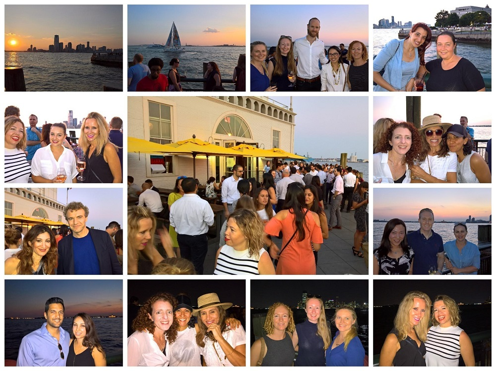 "August ""Hudson Adjacent"" Event at Pier A"