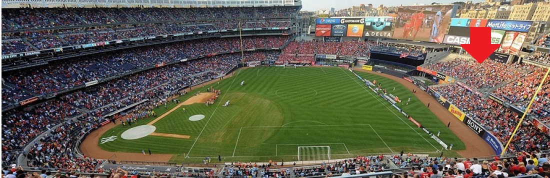 NYC FC vs Seattle Sounders FC @ Yankee Stadium