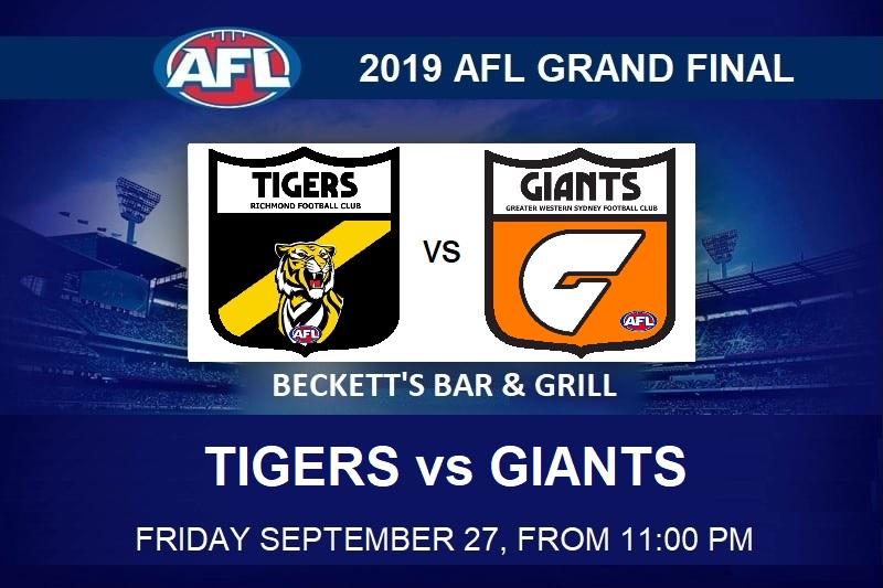 AFL Grand Final in New York 2019