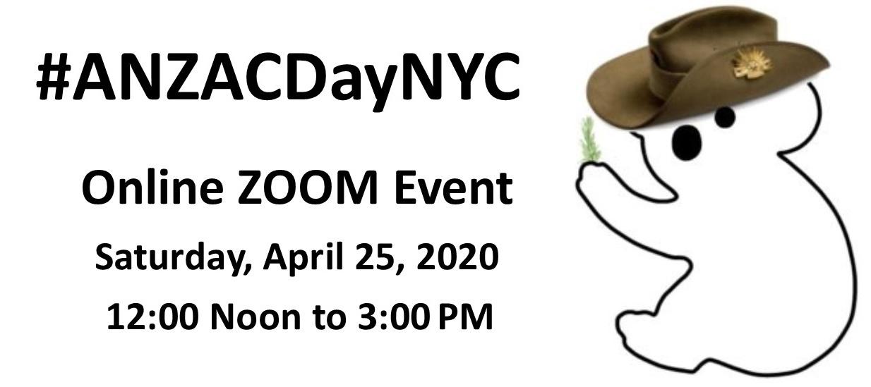 ANZAC Day NYC 2020