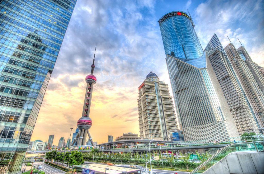 A walk around Shanghai Pudong HDR