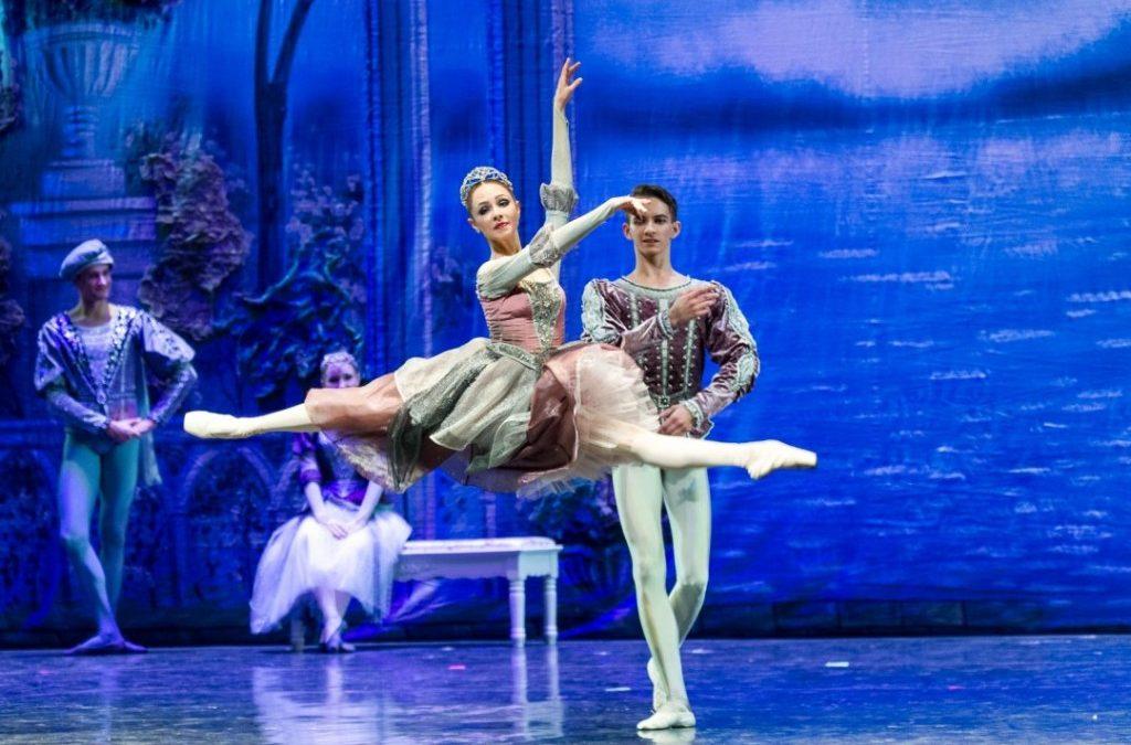 Russian State Ballet in Zhenjiang China