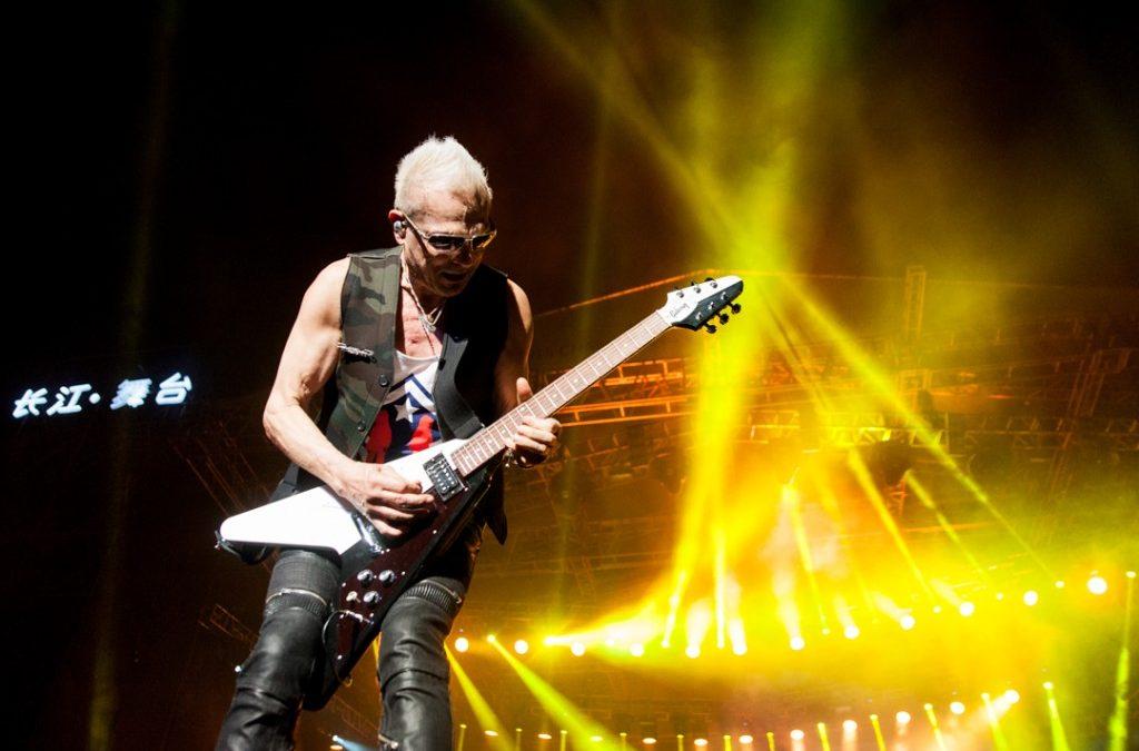 Scorpions live at Changjiang International Music Festival 2015
