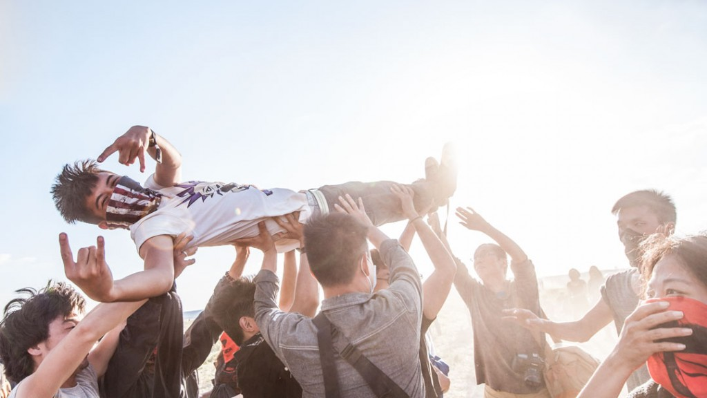 How to shoot a festival with no pass