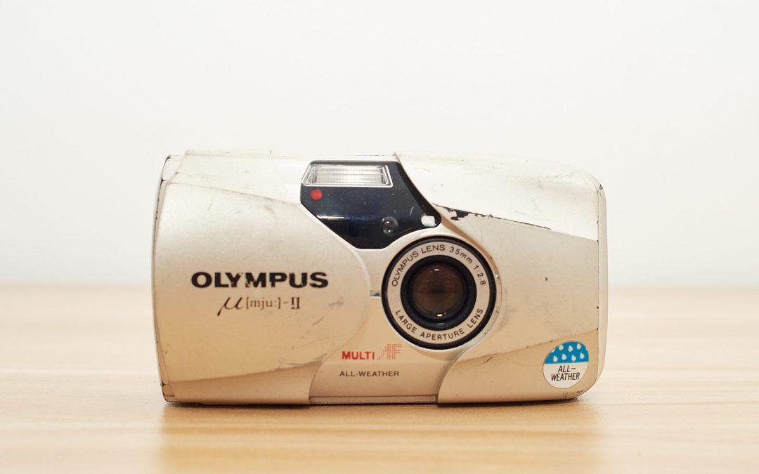 Olympus μ[mju:]-II camera review