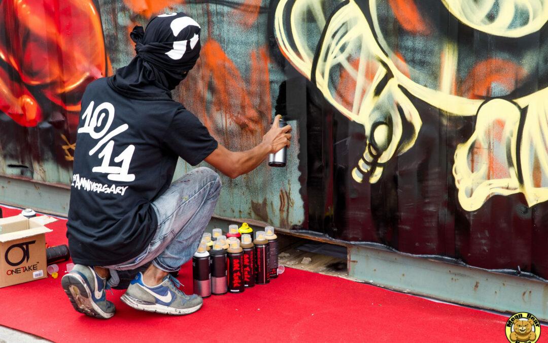 How to photograph graffiti