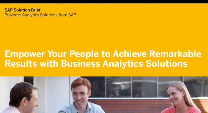 Arm Your Front Lines with Analytics