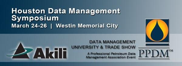 Akili to speak at the Houston Data Management Symposium