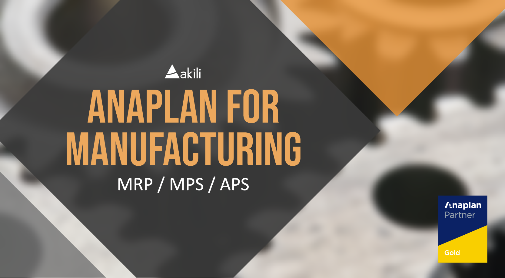 Anaplan for Manufacturing