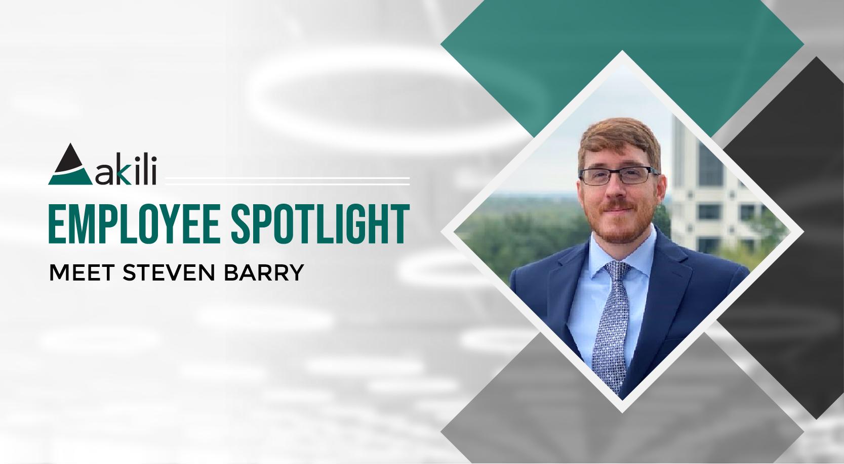 Employee Spotlight: Meet Steven Barry