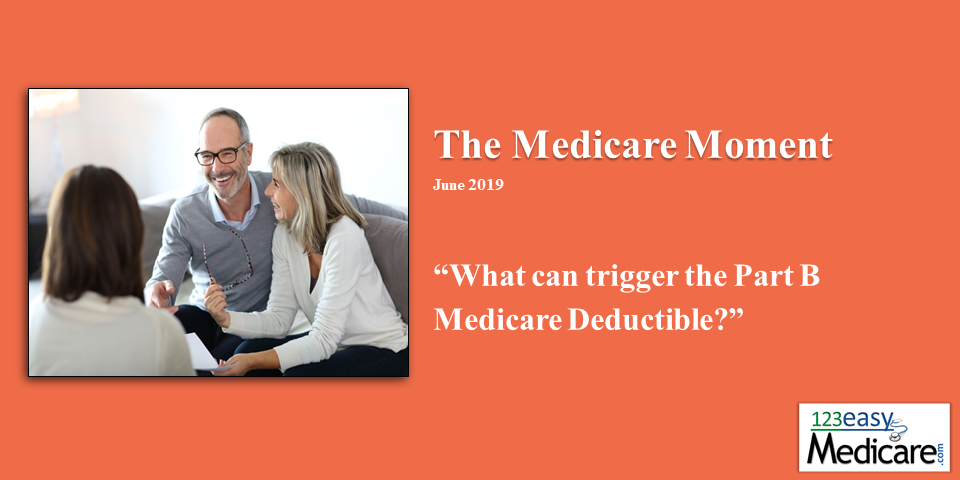 What can trigger Part B Medicare Deductible?