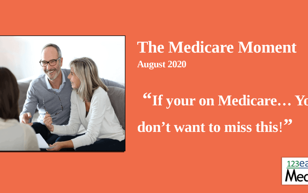If you are on Medicare… read this – 2020
