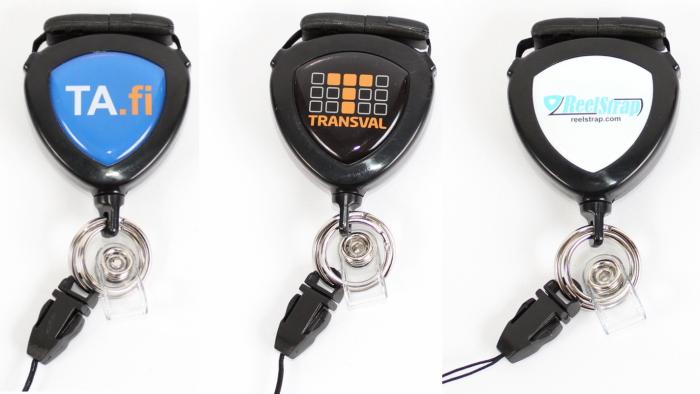 Badge Holder EXC Reelstrap Adjustable Retractable Id Lanyard
