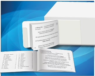 Booklet Labels