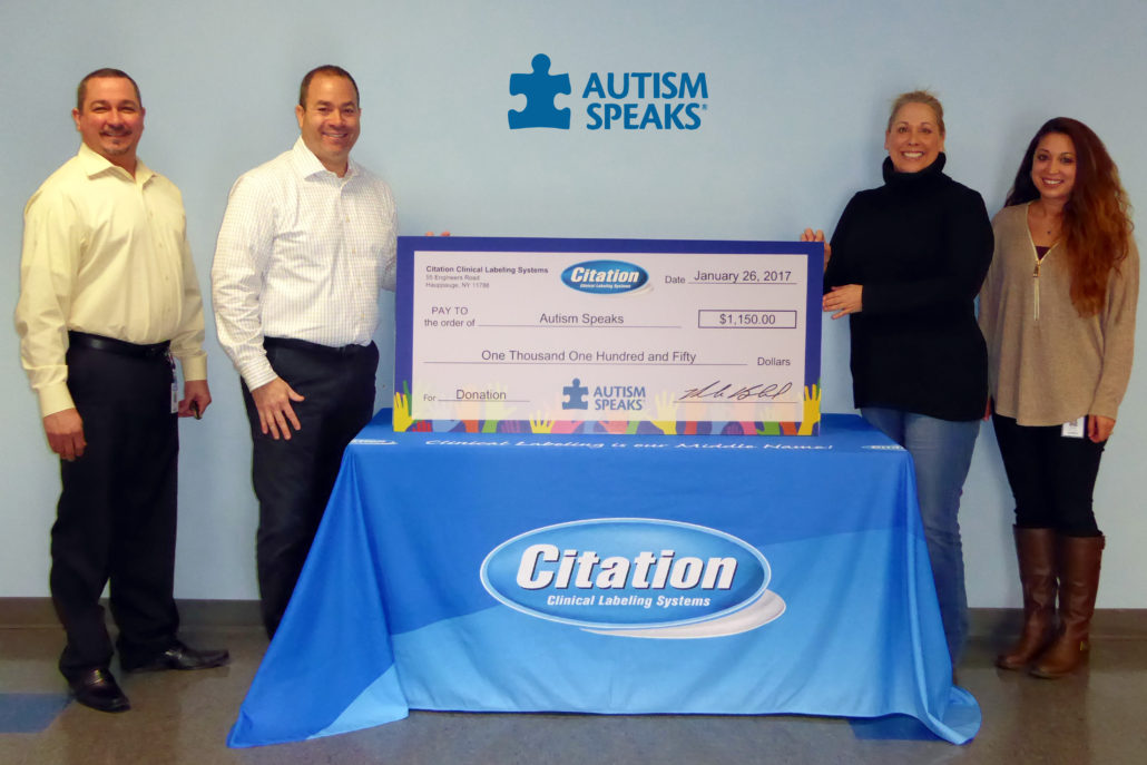 Citation and Autism Speaks Picture 2017