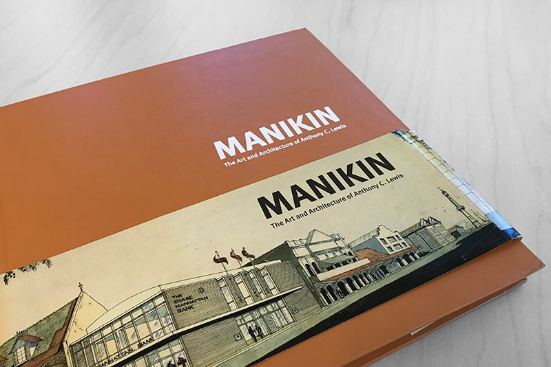 Publishes Manikin: The Art & Architecture of Anthony C. Lewis