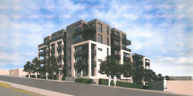 Auckland's future? 53-apartment proposal for Takapuna