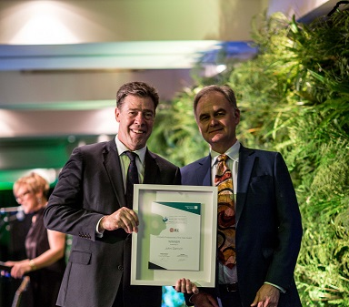 John Darroch, NHV Director, recognised for excellence and innovation
