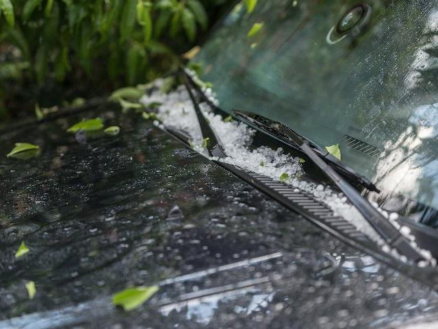 Protect Car During Hailstorm