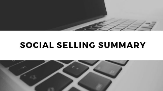 Social Selling Summary
