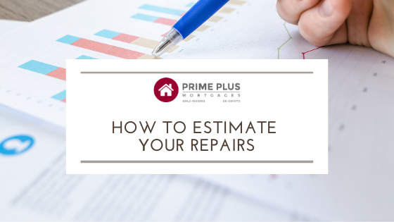 how to estimate your reapairs