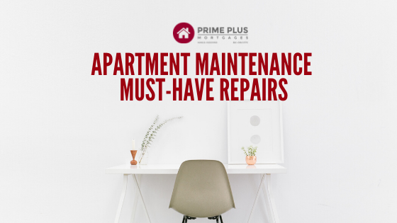 apartment maintenance must have repairs