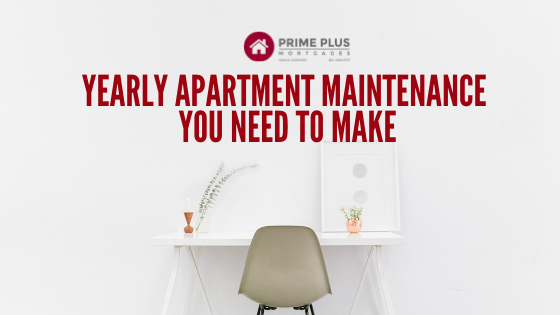 yearly apartment maintenance to make