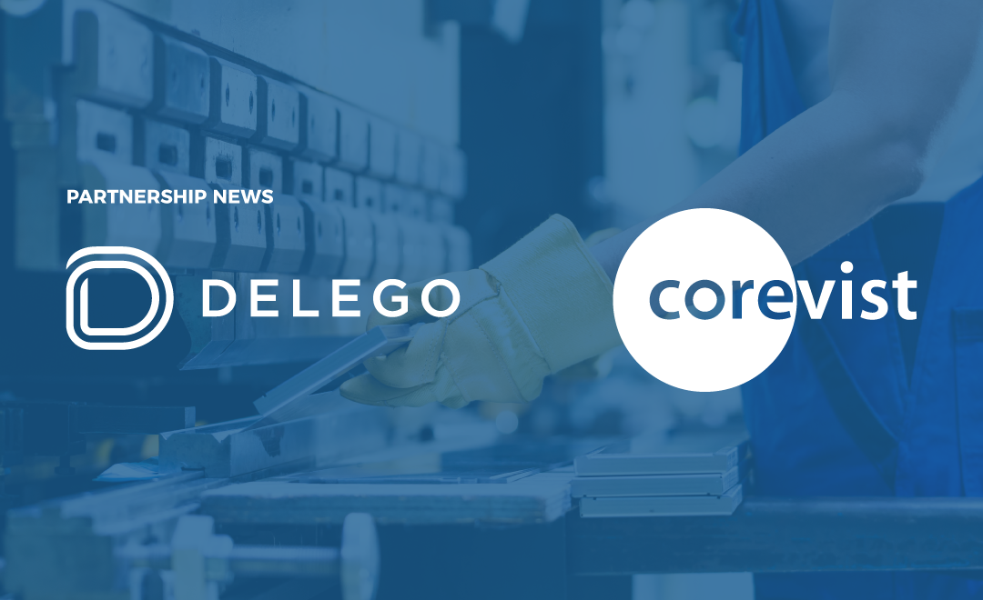 Delego partners with eCommerce company Corevist to provide seamless payments for manufacturers