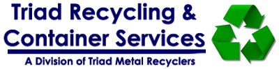 Triad Recycling & Container Services  Retina Logo