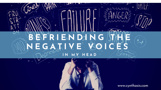 Befriending The Negative Voices In My Head