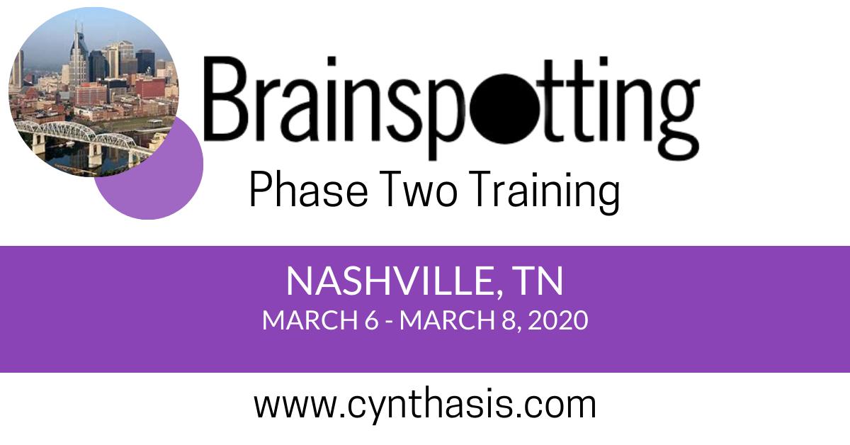 brainspotting training phase two nashville tennessee