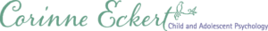Logo for Corinne Eckert Child and Adolescent Psychology
