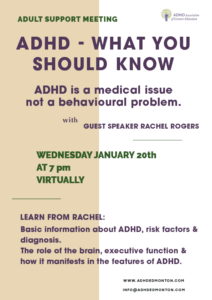 what you should know about adhd with guest speaker rachel rogers