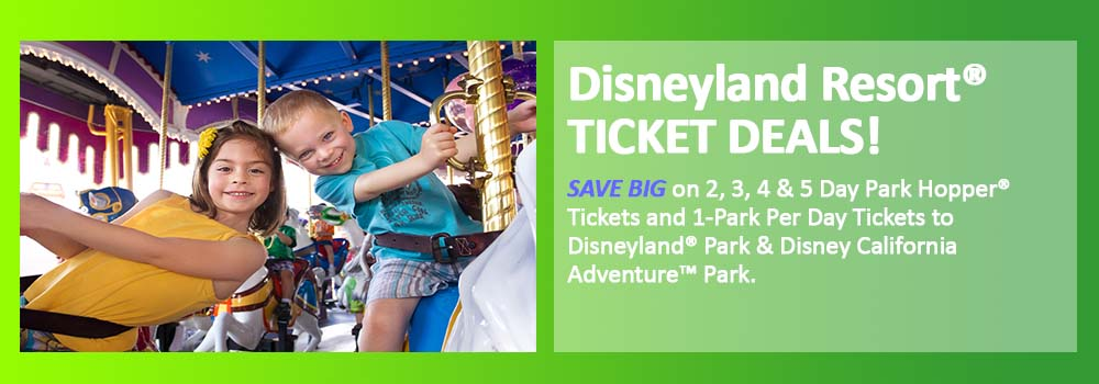 Discount Disneyland Tickets Disneyland Resort Tickets