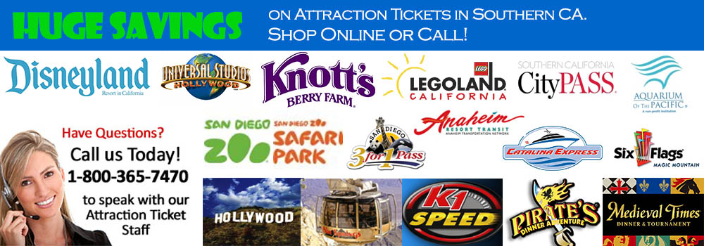 Attraction Tickets Southern California