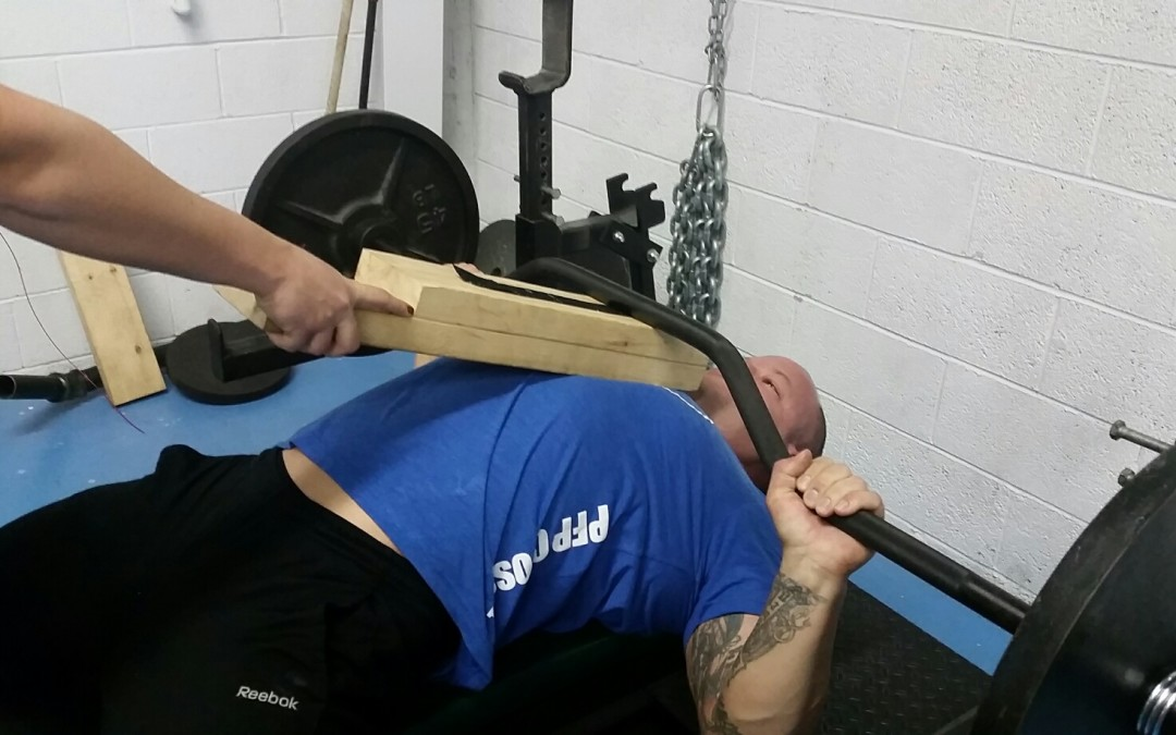 Bench Press with a 1″ Deficit