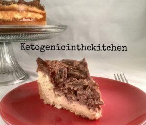 Keto Pecan Pie Cheesecake